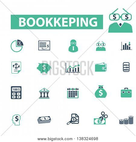 bookkeeping icons