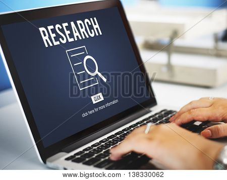 Research Analysis Discovery Investigation Concept