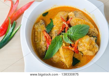 Panang Chicken, Delicious Food, Curry Chicken,thai Food.