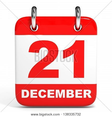 Calendar. 21 December.