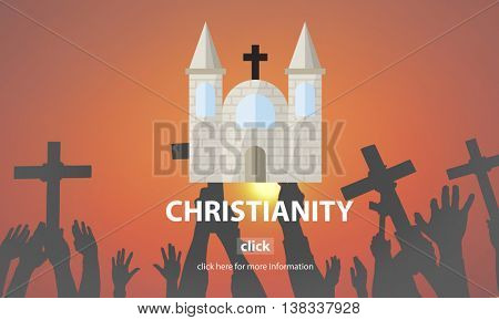 Christianity Faith Holy Hope Jesus Mercy Spirit Concept