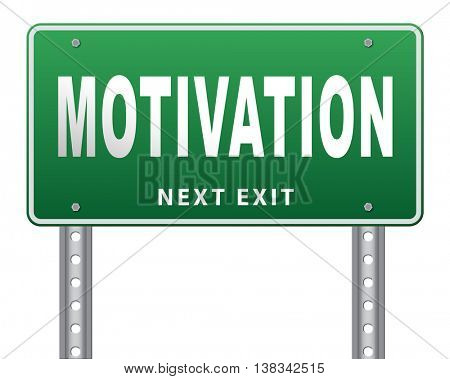motivation and inspiration get inspired or inspire others give an energy boost optimistic with text and word 3D illustration, isolated, on white