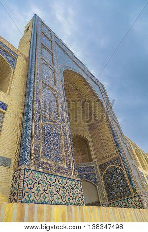 The Old Kosh-Madrasah, Old Bukhara city (Uzbekistan)