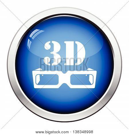 3D Goggle Icon