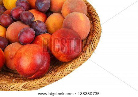 Fruits In Wattled Basket