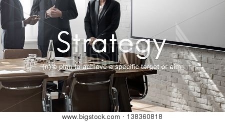 Strategy Vision Planning Operation Tactics Process Concept