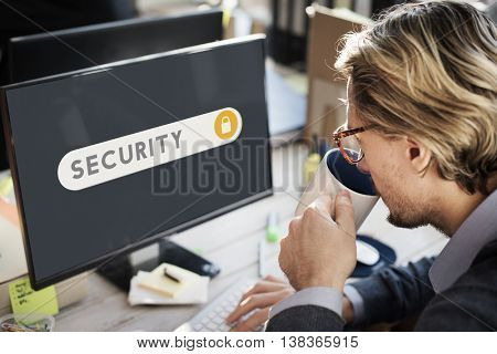 Security Protection Safety Privacy Concept