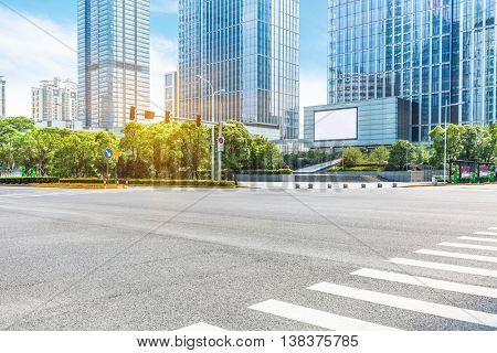 downtown district