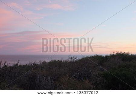 Sunset over sea, San Jose del Cabo, Baja California Sur, Mexico