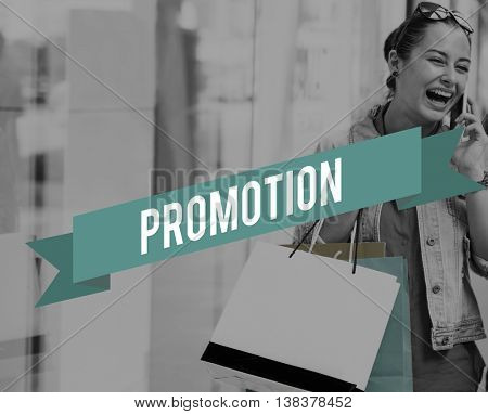 Promotion Advertising Branding Commerce Reward Concept