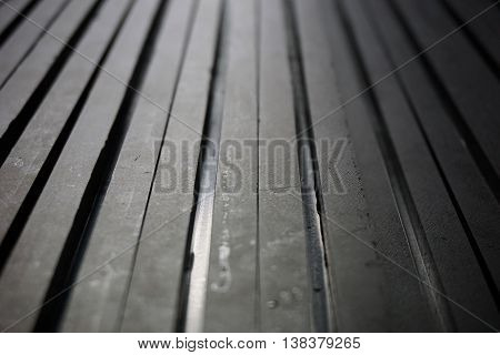 abstract of black nylon line texture for background used