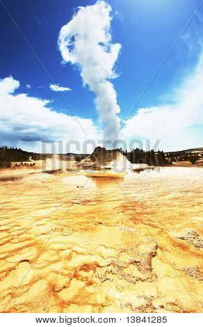 geyser Castle