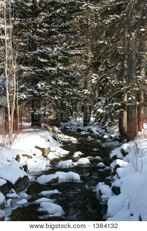 Sundance Creek In Winter