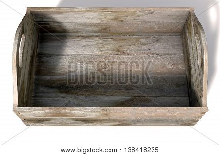 Wooden Carry Crate