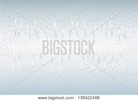 Technology Wave Background