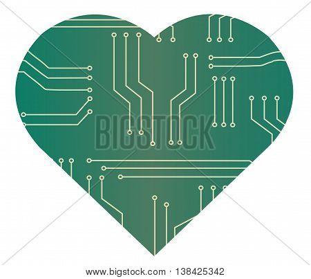 Microchip Technology Heart