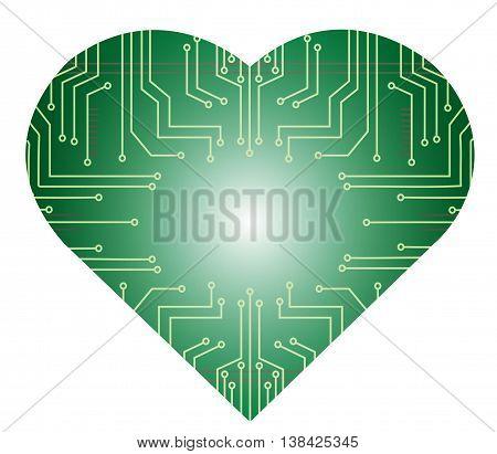 Microchip Heart