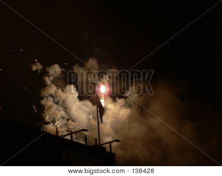 Bombs Bursting