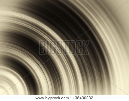 Horizontal vivid black and white sepia vinyl radial swirl twirl business abstraction background backdrop
