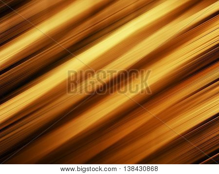Horizontal vivid orange gold diagonal stripes background