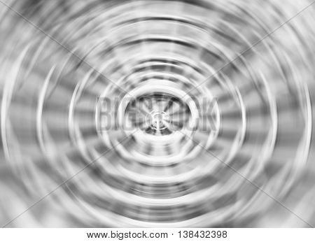 Black And White Blur Abstraction Vortex Background