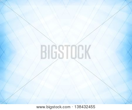 Diagonal Pale Blue Blurred Frame Abstraction Backdrop