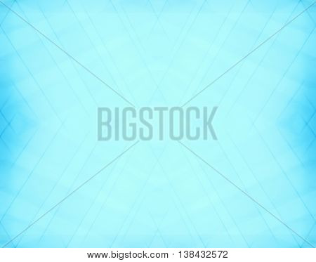 Diagonal Pale Aqua Blurred Frame Abstraction Backdrop