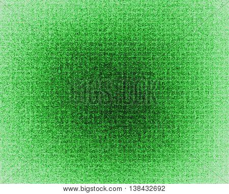 Horizontal Vivid Green Glow Mosaic Abstract Background