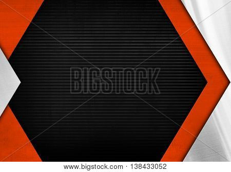 metal fence with arrow design background