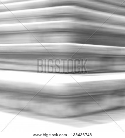 Vertical bright white stairs blur abstraction background backdrop