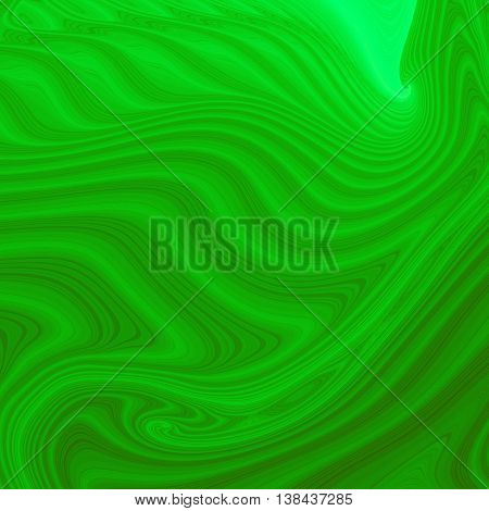 green Colored fractal pattern background or texture