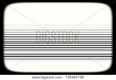 Horizontal Black And White Tvset Static Lines Illustration Backg