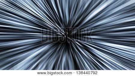 Horizontal Dramatic Grey Space Teleport Abstraction Backdrop