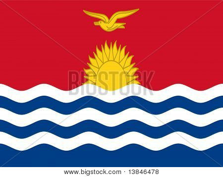 Kiribati National Flag