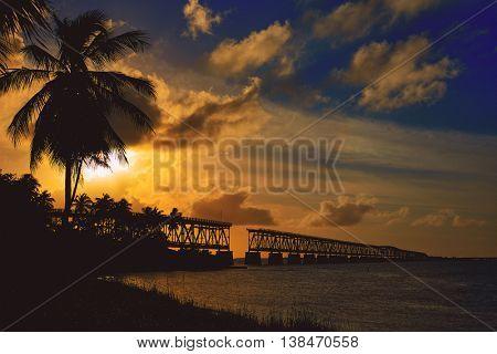 Florida Keys Bahia Honda State Park in USA