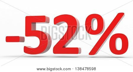 Discount 52 Percent Off Sale.