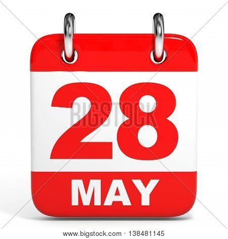 Calendar. 28 May.