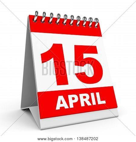 Calendar. 15 April.