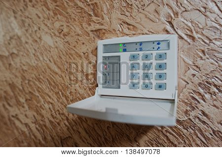 Keypad For Access Control At Home Security
