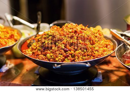 Chili Con Carne In A Pan