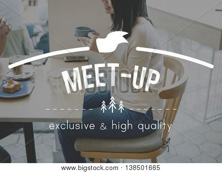 Meet-Up Convention Discussion Planning Strategy Concept