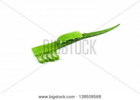 Aloe Vera isolated Aloe Herbal Beauty Product