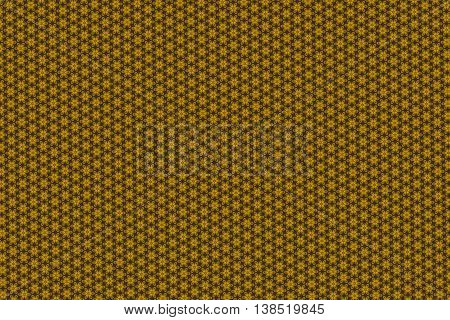 Yellow and brown regular chess pattern texture.