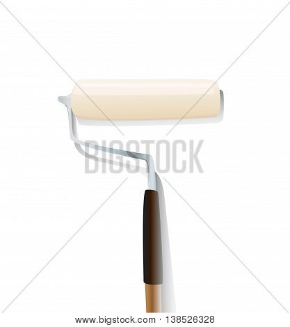 Paintbrush vector , Paintbrush illustration color, paint