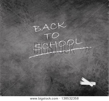 blackboard chalkboard grunge back to school smudge gray vector
