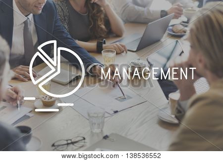 Management Business Controlling Dealing Strategy Concept