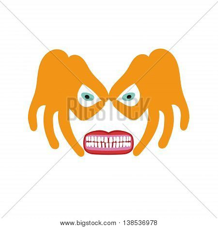illustration in flat style. vector format. original creative vector illustration for web design and Polygraphy