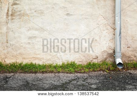Abstract Empty Urban Background, Old Wall