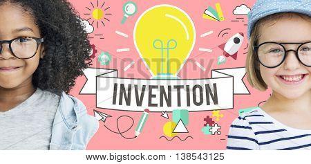Invention Design Ideas Creative Imagination Concept