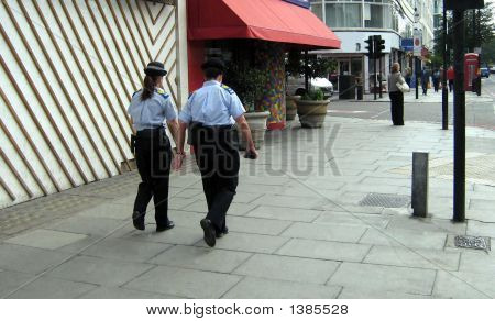 Policewomen.Police.People In Uniform.Team Work